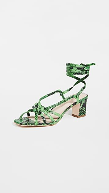 Libby Knotted Wrap Sandals レディース
