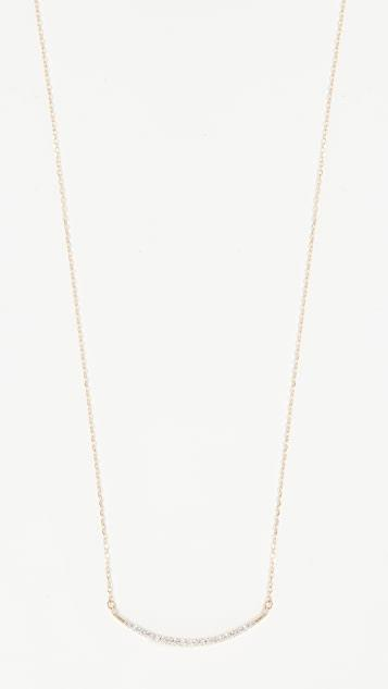 <title>Adina Reyter レディース 毎日続々入荷 アクセサリー その他 14k Gold Large Pave Curve Necklace</title>