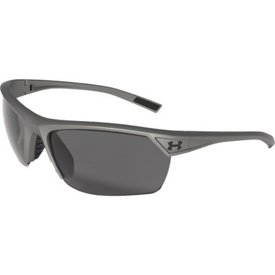 アンダーアーマー スポーツサングラス Under Armour Zone II Polarized Sunglasses satin carbon/blk/gry pol