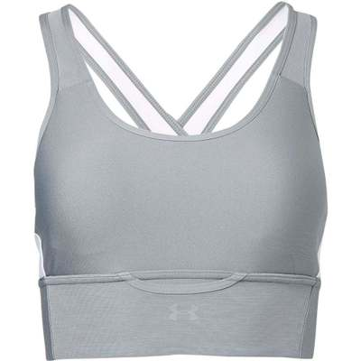 アンダーアーマー スポーツブラ Under Armour Pocket Sports Bra Steel/White
