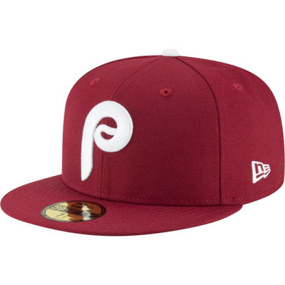 ニューエラ キャップ New Era Philadelphia Phillies 59Fifty 1970 Maroon Fitted Hat