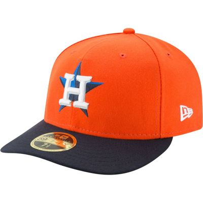 ニューエラ キャップ New Era Houston Astros 59Fifty Alternate Orange Low Crown Fitted Hat