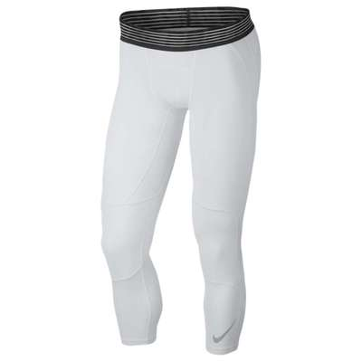 ナイキ タイツ・スパッツ Nike Basketball 3/4 Tights White/Black