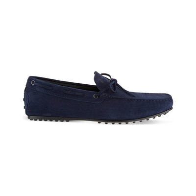 トッズ ドライビングシューズ gommino heaven driving shoes in suede Navy