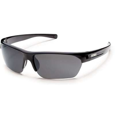 サンクラウド メガネ・サングラス Suncloud Detour Polarized Sunglasses Black / Gray Polarized