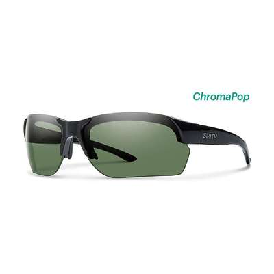 スミス メガネ・サングラス Smith Envoy Max ChromaPop Polarized Sunglasses Black / Polarized Grey Green