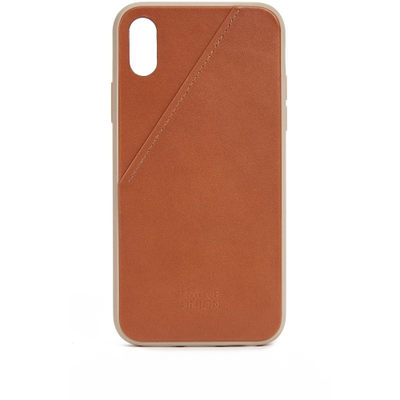 ネイティブユニオン iPhone (X)ケース Clic Card iPhone X Case Tan