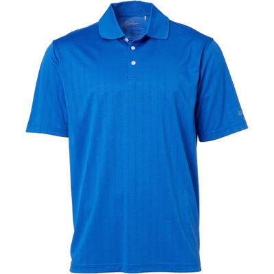 ウォルターヘーゲン ポロシャツ Walter Hagen Essentials Textured Golf Polo Blue Strong