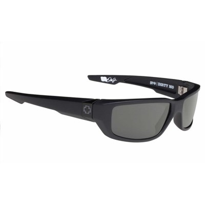 スパイ メガネ・サングラス Dirty Mo Sunglasses Soft Matte Black/ Happy Grey Green Lens