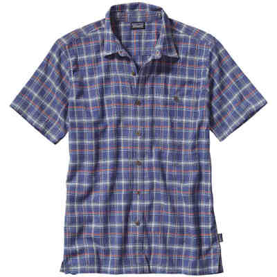 パタゴニア シャツ A/C Shirt Traveller/ Channel Blue