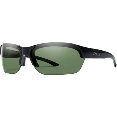 スミス スポーツサングラス Envoy Polarized ChromaPop Sunglasses Black/Polarized Gray Green