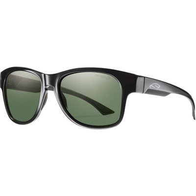 スミス メガネ・サングラス Wayward ChromaPop+ Sunglasses - Polarized Black/Gray Green