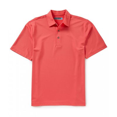 ラウンドトゥリーアンドヨーク ポロシャツ Performance Short-Sleeve Solid Pique Polo Paradise Pink