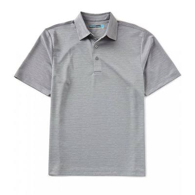 ラウンドトゥリーアンドヨーク ポロシャツ Performance Short-Sleeve Bitmap Jacquard Polo Quiet Shade