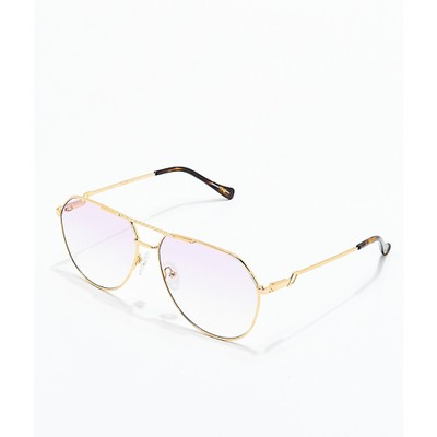 ザゴールドゴッズ メガネ・サングラス The Gold Gods The Escobar Pink Gradient Sunglasses Assorted