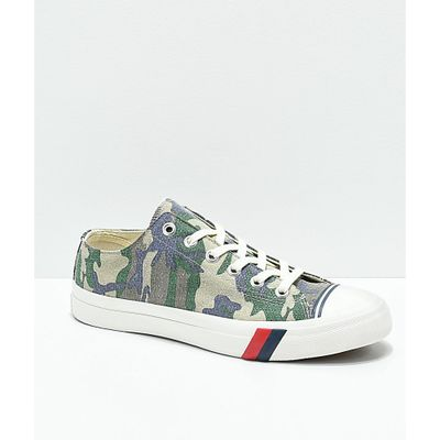ケッズ スニーカー Pro-Keds Royal Lo Camo Shoes Assorted