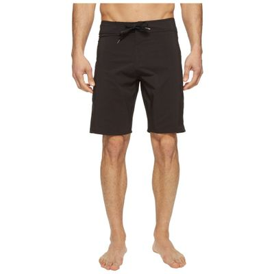 ボルコム 海パン Lido Solid Mod 20 Boardshorts Black