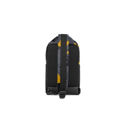 f1e0d2d9c2b9  お取り寄せ商品  Moleskine ID Sling Backpack Camo Black Yellow