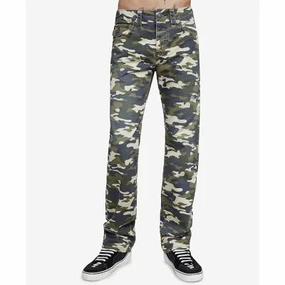 トゥルー レリジョン True Religion ショートパンツ Ricky Camo-Print Destroyed Shorts Camo