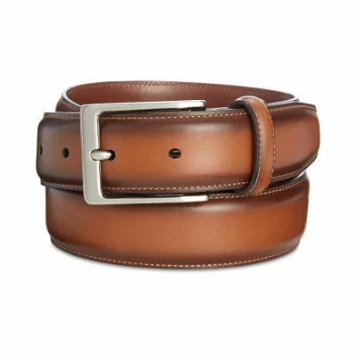 ペリー エリス Perry Ellis ベルト Portfolio Leather Amigo Dress Belt Luggage
