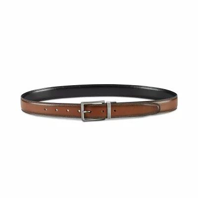 ペリー エリス Perry Ellis ベルト Classic Reversible Leather Belt Coffee Brown/Black