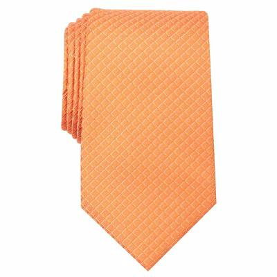 ペリー エリス Perry Ellis ネクタイ Vidmar Mini Neat Silk Tie Orange