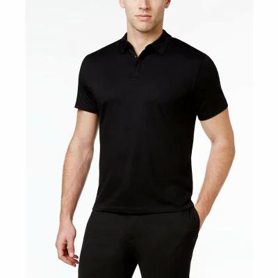 アルファニ Alfani ポロシャツ Soft Touch Stretch Polo Deep Black