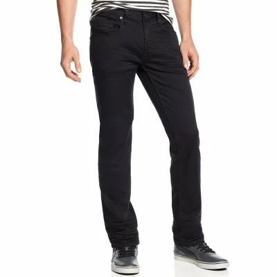 バッファロー デビッド ビトン Buffalo David Bitton ジーンズ・デニム Six-X Straight Fit Stretch Jeans Black
