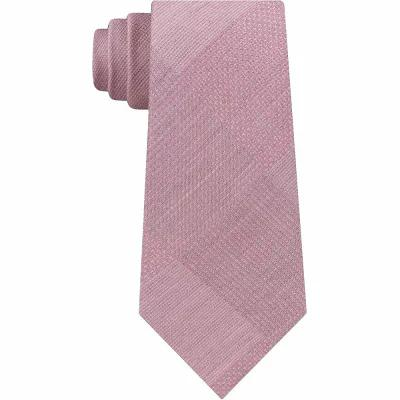ケネス コール Kenneth Cole Reaction ネクタイ Updated Glen Plaid Tie Coral
