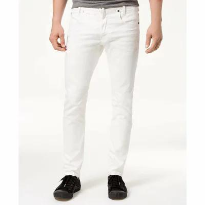 ジースター ロゥ G-Star Raw ジーンズ・デニム Slim-Fit Stretch White Jeans Inza White