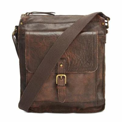 パトリシア ナッシュ Patricia Nash ショルダーバッグ Nash Tuscan Leather North South Crossbody Chocolate
