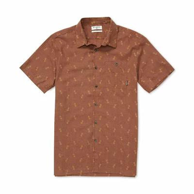 ビラボン Billabong シャツ Sundays Jacquard Shirt Rust Brown