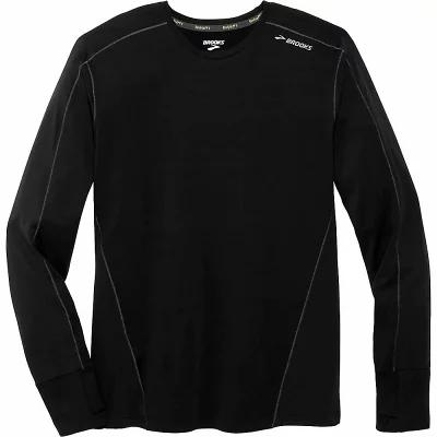 ブルックス Brooks その他トップス Dash Base LS Top Black / Asphalt