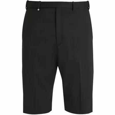 ニール バレット ショートパンツ Mid-rise straight-leg twill tailored shorts Black