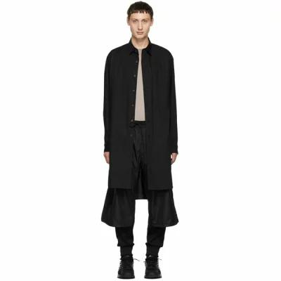 ワイスリー Y-3 シャツ Black Stacked Logo Long Shirt