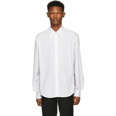 ナマチェコ Namacheko シャツ White Highfield Detail Shirt