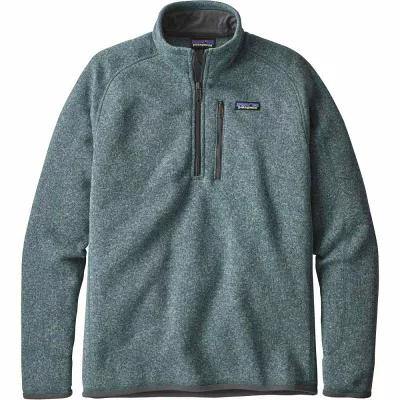 パタゴニア Patagonia フリース Better Sweater 1/4 Zip Fleece Pullover Shadow Blue