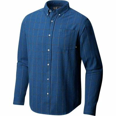 マウンテンハードウェア Mountain Hardwear シャツ Ashby Long - Sleeve Shirts Nightfall Blue