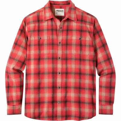 マウンテンカーキス Mountain Khakis シャツ Saloon Flannel Shirts Engine Red Plaid