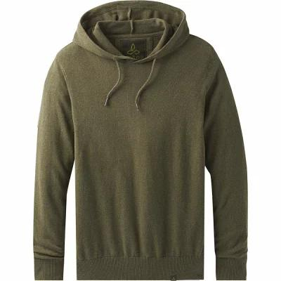 プラーナ Prana パーカー Throw On Hooded Sweaters Cargo Green