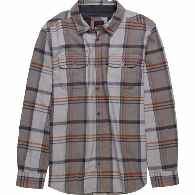 プラーナ Prana シャツ Lybek Flannel Shirts Mud