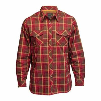 5.11 タクティカル 5.11 Tactical シャツ Covert Flannel L/S Shirt Burgundy