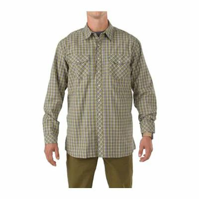 5.11 タクティカル 5.11 Tactical シャツ Covert Flannel L/S Shirt Steam