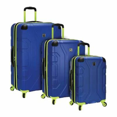 USトラベラー US Traveler スーツケース・キャリーバッグ Sky High 3-Piece Hardside Spinner Set Navy