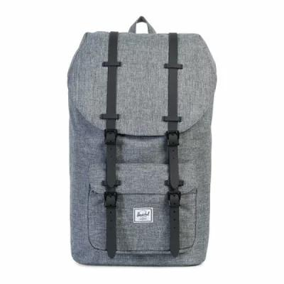 ハーシェル サプライ Herschel Supply Co. バックパック・リュック Little America Backpack Raven Crosshatch/Black