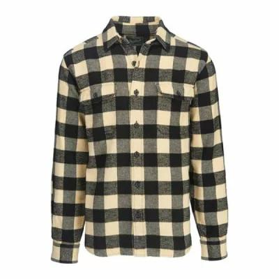 ウールリッチ Woolrich シャツ Oxbow Bend Flannel Shirt Black/White Modern Fit