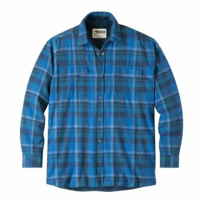 マウンテンカーキス Mountain Khakis シャツ Christopher Fleece Lined Shirt Cayman Plaid