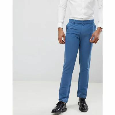 ブーフー boohooMAN スラックス Skinny Fit Suit Trousers In Blue Blue