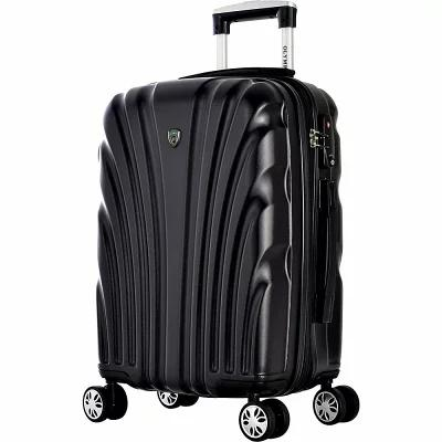 オリンピア Olympia USA スーツケース・キャリーバッグ Vortex 21' Expandable Hardside Carry-on Spinner Luggage Black