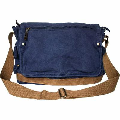 ヴァガボンド Vagabond Traveler メッセンジャーバッグ Casual Style Canvas Messenger Bag Blue